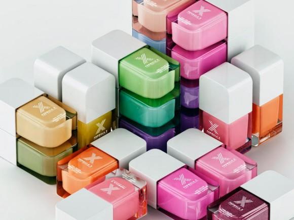 Дизайн упаковки лака для ногтей