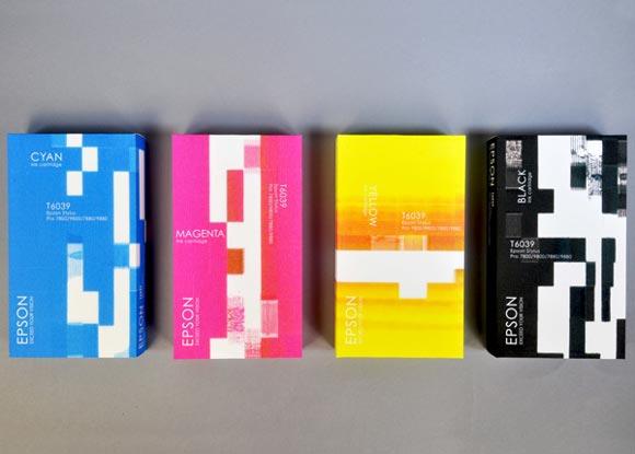 Концепт упаковки бумаги