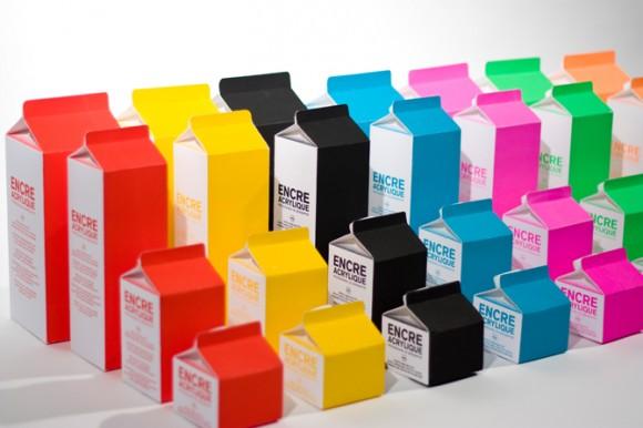 Дизайн упаковки красок