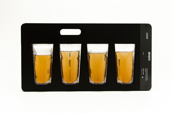 Концепт упаковки пива