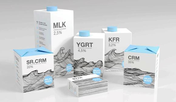 Концепт упаковки молочной продукции