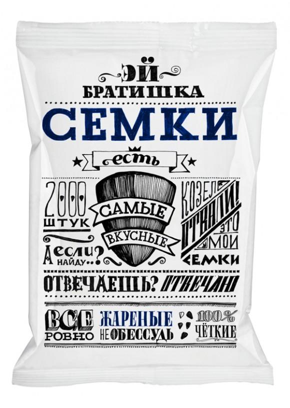 Концепт упаковки семечек