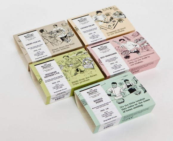 Дизайн упаковки готовых пирогов