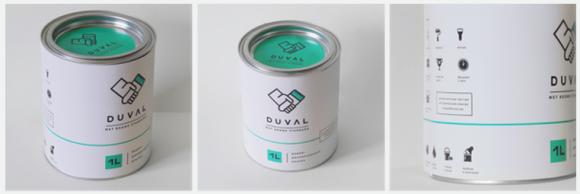 Концепт упаковки красок