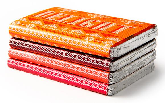 Дизайн упаковки новогоднего шоколада