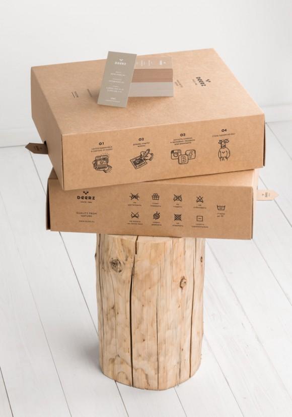 Дизайн упаковки свитера