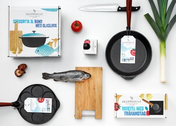 Дизайн упаковки кухонной посуды