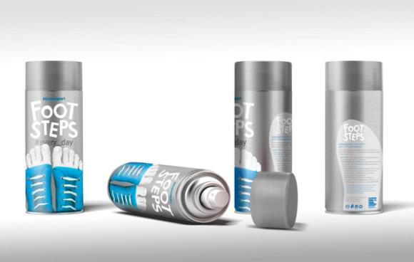 Концепт упаковки дезодоранта