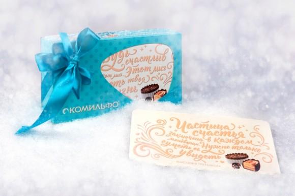 Дизайн подарочной упаковки конфет