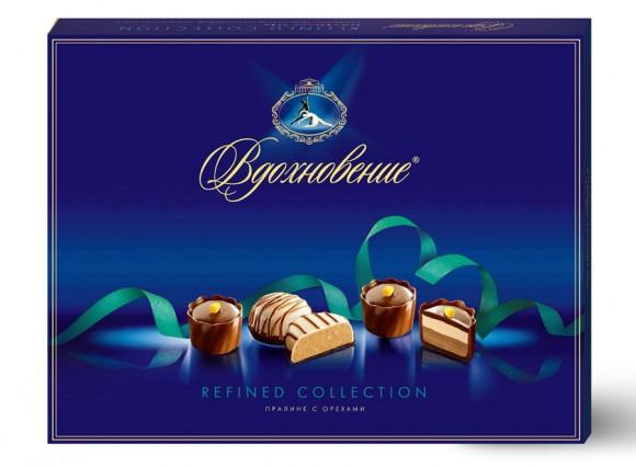 Дизайн упаковки шоколадных конфет