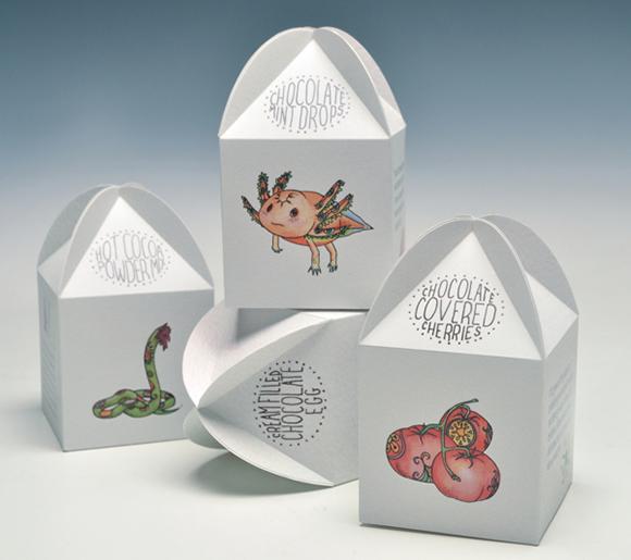 Дизайн упаковки шоколадных яиц