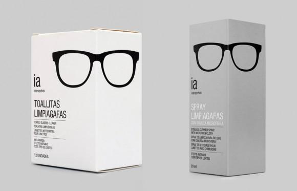 Дизайн средств по уходу за очками