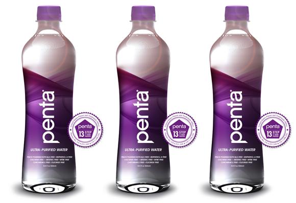 Дизайн бутылки воды