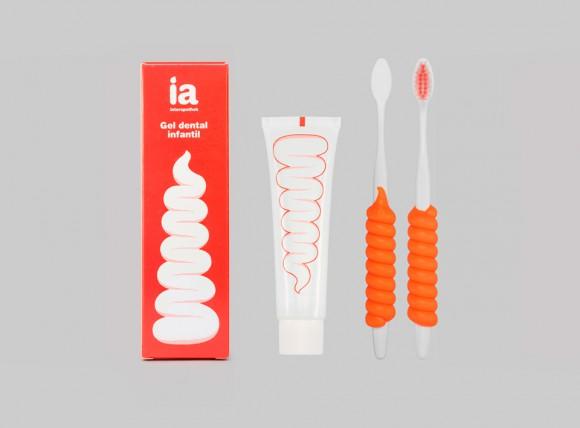 Дизайн упаковки зубной пасты