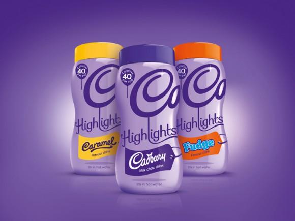 Дизайн упаковки шоколадного напитка