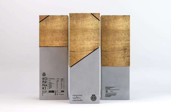 Концепт упаковки оливкового масла
