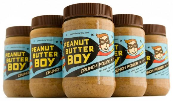 Дизайн упаковки арахисового масла