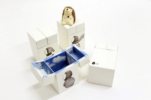 Концепт упаковки игрушек