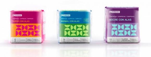 Дизайн упаковки прокладок