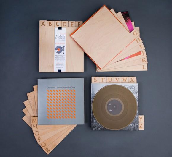 Дизайн упаковки разделителей для пластинок