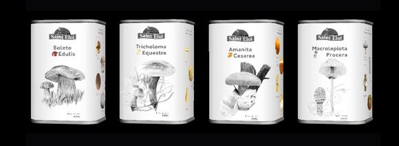 Концепт упаковки грибов