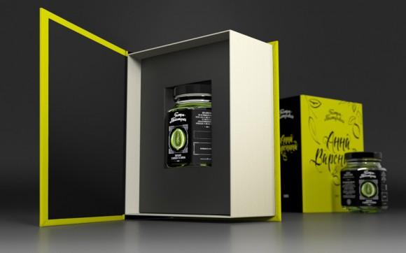 Дизайн упаковки конфитюров