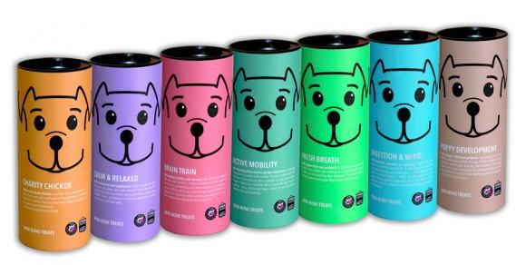 Дизайн упаковки пищевых добавок для собак