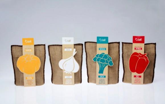 Дизайн упаковки сушеных овощей