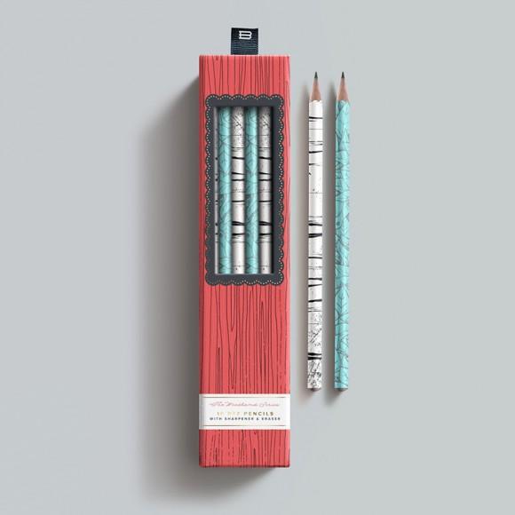 Дизайн упаковки карандашей