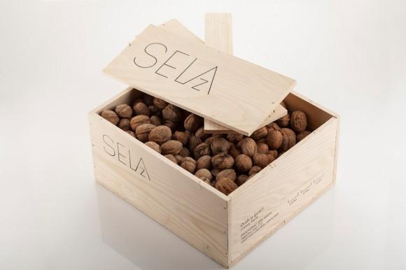 Дизайн упаковки орехов