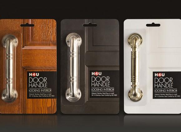 Дизайн упаковки дверных ручек
