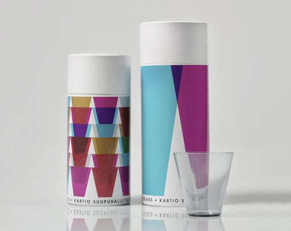 Дизайн упаковки стаканов