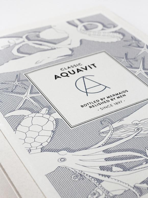 Дизайн упаковки аквавита