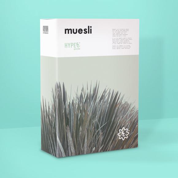 Концепт упаковки мюсли