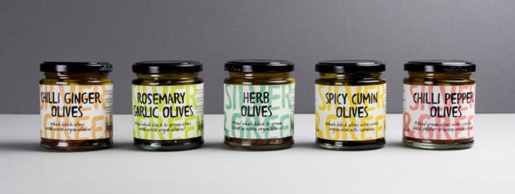 Дизайн упаковки оливок