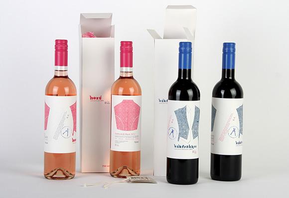 Концепт винной этикетки