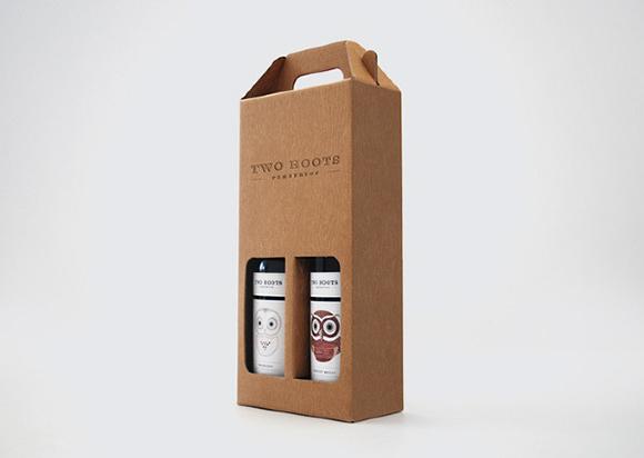 Концепт упаковки вина