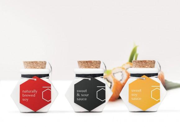 Концепт упаковки соусов