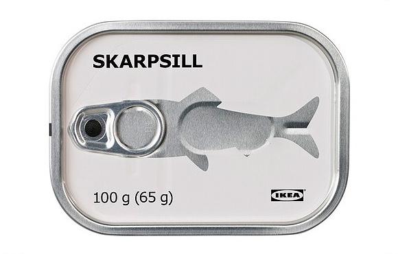 Дизайн упаковки IKEA FOOD