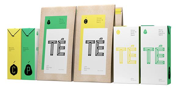 Концепт упаковки холодного чая