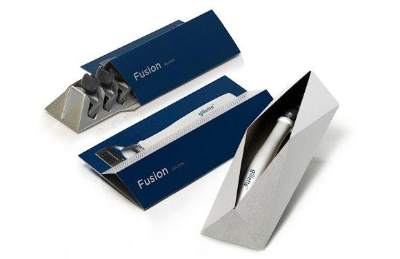 Дизайн упаковки бритвы