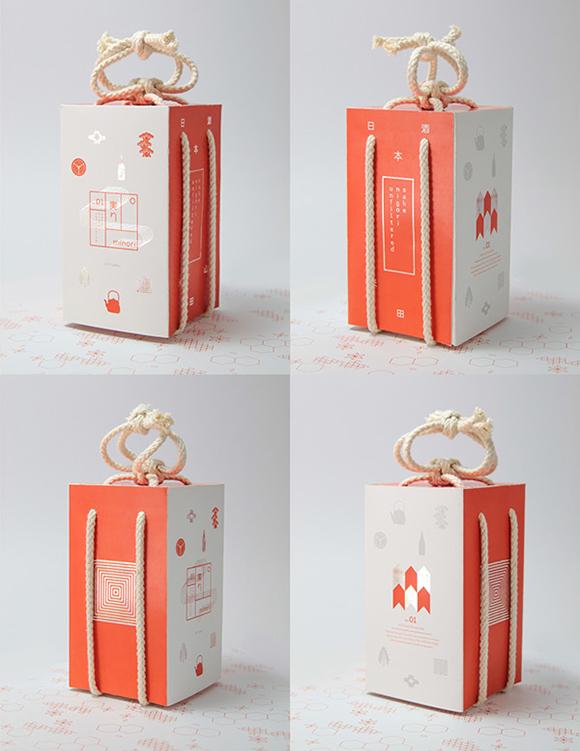 Концепт упаковки саке