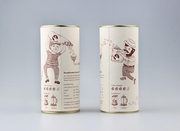 Концепт упаковки кофе