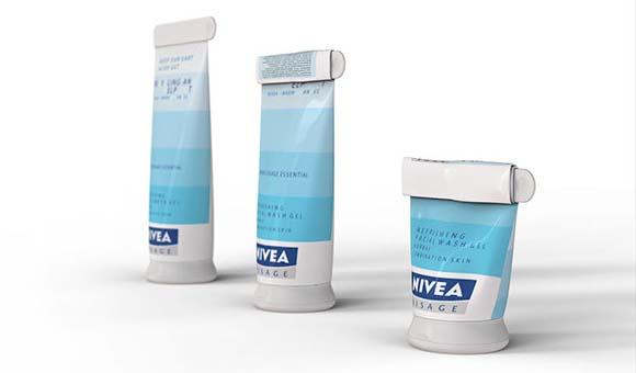Концепт упаковки крема