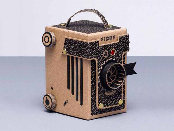 Дизайн картонного фотоаппарата
