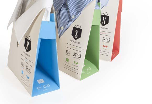 Дизайн упаковки рубашек