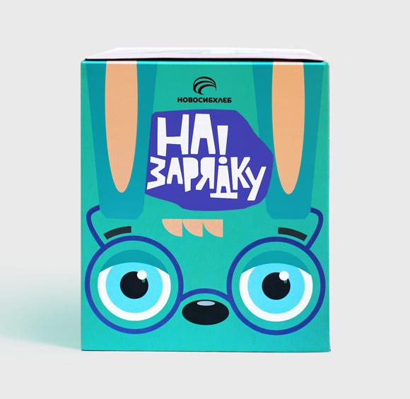 Дизайн упаковки детского печенья
