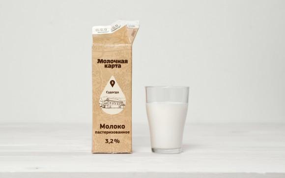 Дизайн упаковки молочных продуктов