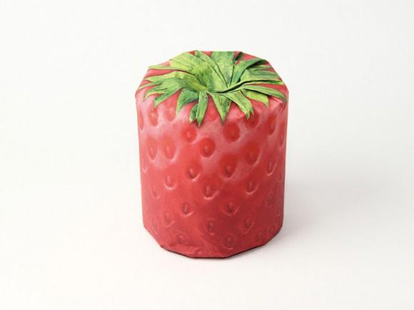 Концепт упаковки для фруктов