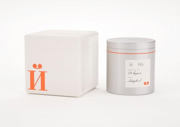 Концепт упаковки икры